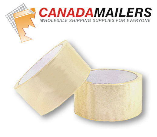 "Clear Packing Tape 2"" x 72 Rolls - Click Image to Close"