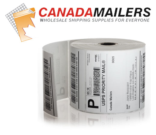 Zebra 4x6 Shipping Labels: 1 Roll of 250 Labels