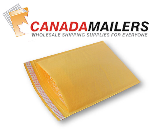 Kraft Bubble Mailer #5 - 10.5x15 - Bag of 10